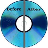 Disc Repair - Before and After